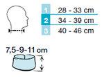 Thuasne nekbrace Ortel C1 blauw (verkrijgbaar in hoogte 7.5, 9 en 11 cm en in 3 maten)_7