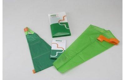 Easy Slide aantrekhulp en uittrekhulp voor steunkousen met open teen, maat XL