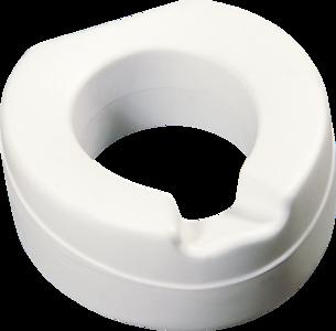 Thuasne toiletverhoger, zacht (grijs)
