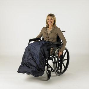 Rolstoelhoes Splash wheely apron, gevoerd - AANBIEDING: Van 59,95 Euro voor  49,95 Euro