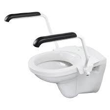Toiletbeugelset staal wit - AANBIEDING: Van 175,45 Euro voor 149,95 Euro!