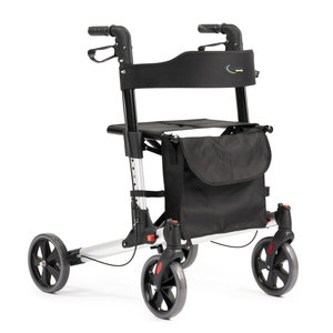 MultiMotion rollator Double - Zilver