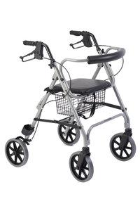 Thuasne rollator Move Light - grijs - AANBIEDING: Nu met gratis opvouwbare wandelstok!!!